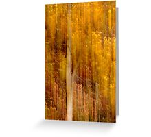 Autumn abstract Greeting Card