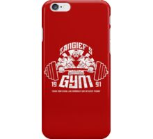 Zangief's Gym  iPhone Case/Skin