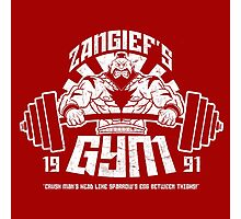 Zangief's Gym  Photographic Print