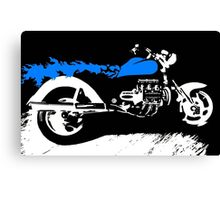 Blue Beauty V-8 Canvas Print
