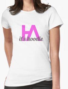 Simplistic Hoodie Allen Design 2 Womens Fitted T-Shirt