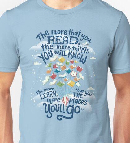 Go places Unisex T-Shirt