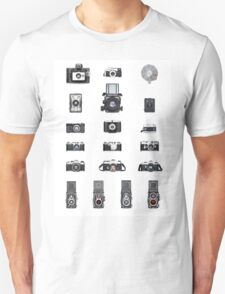 Cameras Collection T-Shirt