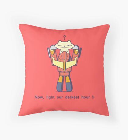 Transformers Rodimus Throw Pillow