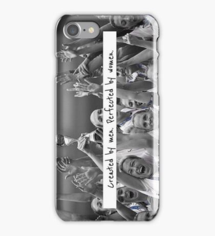 Created by men. Perfected by women. Cases iPhone Case/Skin