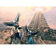Bird men Photographic Print