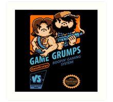 Game Grumps NES Cover Art Print