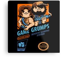 Game Grumps NES Cover Metal Print