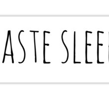 Namaste Sleeping Sticker