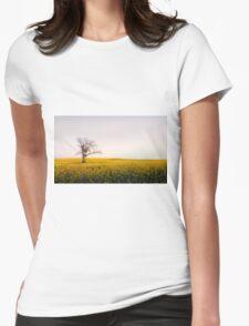 Canola Sunrise - NSW, AUSTRALIA Womens Fitted T-Shirt
