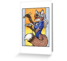 Sushi Fox Greeting Card