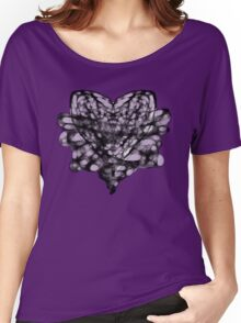 Bound Heart (PURPLE) Women's Relaxed Fit T-Shirt