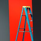 It's a very nice stepladder but it's sad that I never knew my real ladder. by Alex Preiss