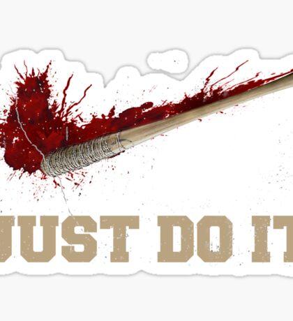 Negan - The Walking Dead Sticker