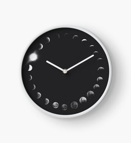 Moon Phases Ring Clock