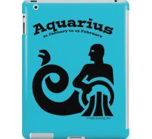 Signs of the Zodiac:   AQUARIUS iPad Case/Skin