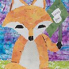 the quick red fox jumps over the lazy brown dog by luckylittle