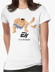 E. Honda  Womens Fitted T-Shirt