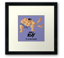 E. Honda  Framed Print