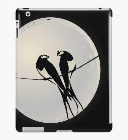 Birds on a wire iPad Case/Skin