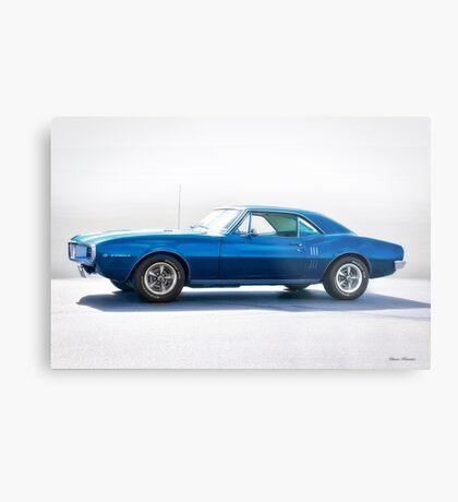 1967 Pontiac Firebird 'Studio' Metal Print
