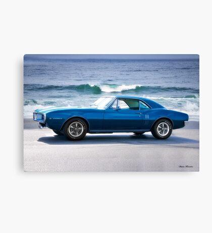 1967 Pontiac Firebird   Canvas Print