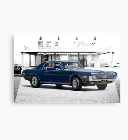 1968 Mercury Cougar XR-7 GT Metal Print