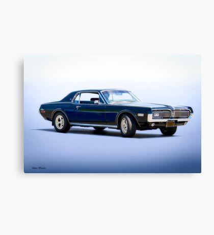 1968 Mercury Cougar XR-7 GT 'Studio' Canvas Print