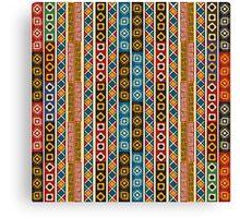 Tribal  Aztek pattern Canvas Print