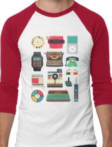 Retro Technology 2.0 Men's Baseball ¾ T-Shirt