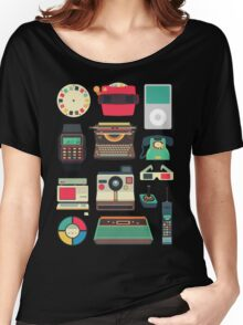 Retro Technology 2.0 Women's Relaxed Fit T-Shirt
