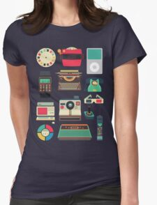 Retro Technology 2.0 Womens Fitted T-Shirt