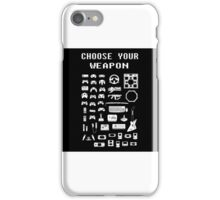 Videogame Weapon iPhone Case/Skin