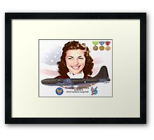 2nd Lt. Mildred 'Micky' Axton Framed Print