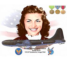 2nd Lt. Mildred 'Micky' Axton Photographic Print