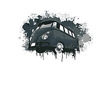 VW Bus Splatter Photographic Print