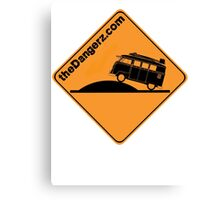 Dangerbus Canvas Print