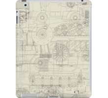 Seamless pattern vehicles design iPad Case/Skin
