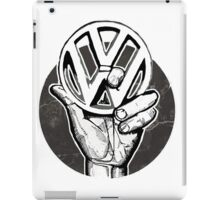 VW sign iPad Case/Skin
