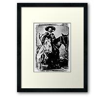 Siete Leguas Framed Print