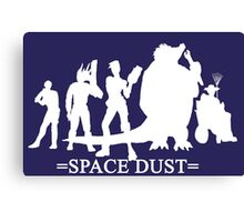 space dust Canvas Print