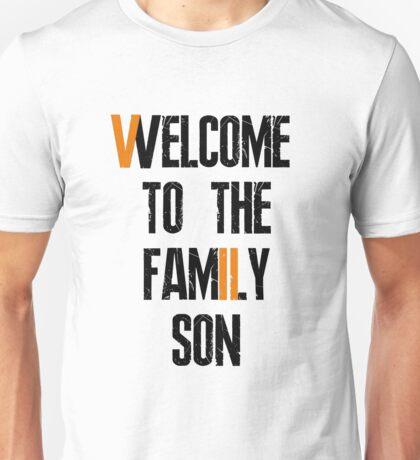 Residen Evil 7 Welcome (Black) Unisex T-Shirt
