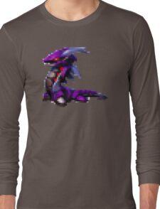8bit Robot dragon Long Sleeve T-Shirt