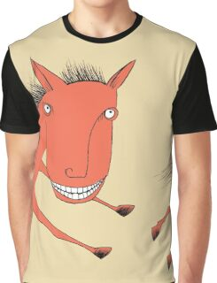 The Thrill of it All Horse Graphic T-Shirt
