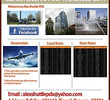 Drop Off to The Airport in Beaverton by alexshuttle