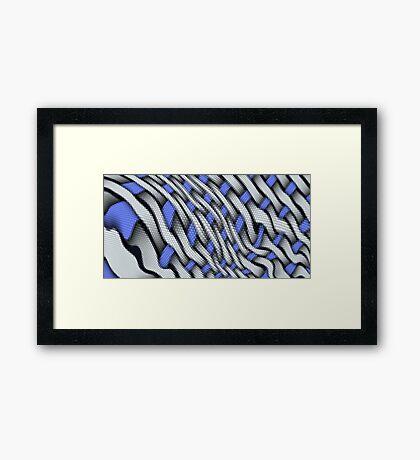 Dangerous Reptile Framed Print