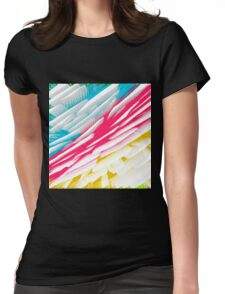 Abstract 302 Womens Fitted T-Shirt