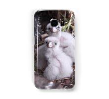 Baby peregrine falcons  Samsung Galaxy Case/Skin