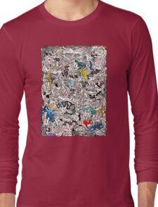 Kamasutra LOVE Doodle Long Sleeve T-Shirt