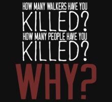 The Walking Dead Killer Questions by geekchicprints